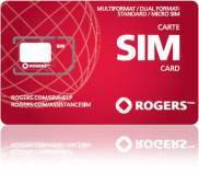 Rogers, Chatr, Fidoo and Bell Sim Card & (Sims for I phones as well)