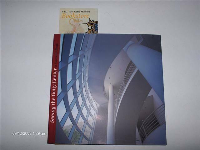 #240 THE GETTY CENTER A SOUVENIR BOOK $10
