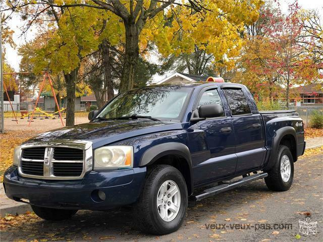 2007 DODGE DAKOTA SLT, AUTOMATIQUE :