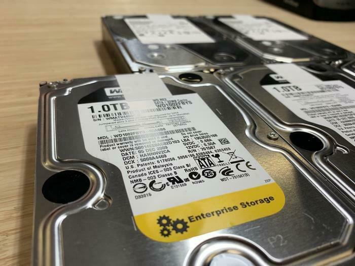 29$ DISQUE DUR POUR PC 1000GB 1TB WESTERN DIGITAL ENTREPRISE HITACHI