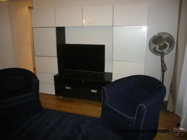 Appartement 1 chambre meuble 52m² Plateau Mont-Royal