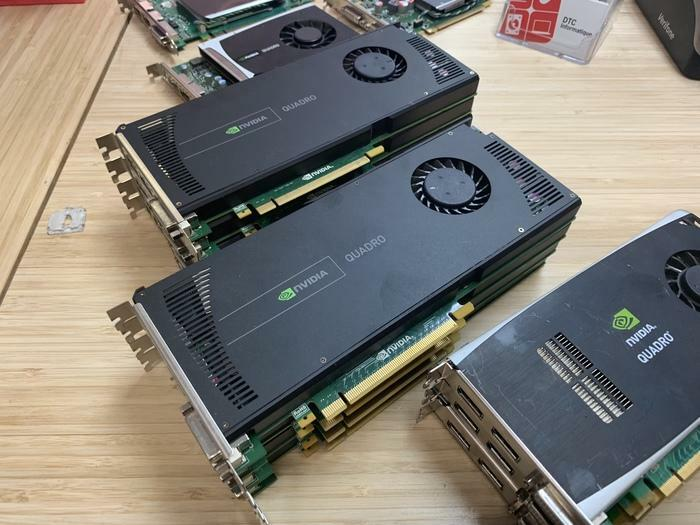 CARTE VIDEO NVIDIA QUADRO FX1800 4000 2000 FX380 FX580
