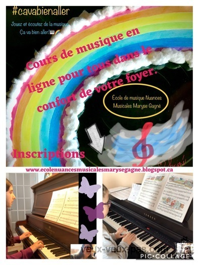 Cours de piano, clavier en ligne