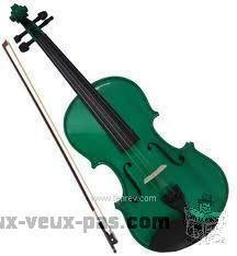 Cours de violon et possibilité de faire partie d'un orchestre.