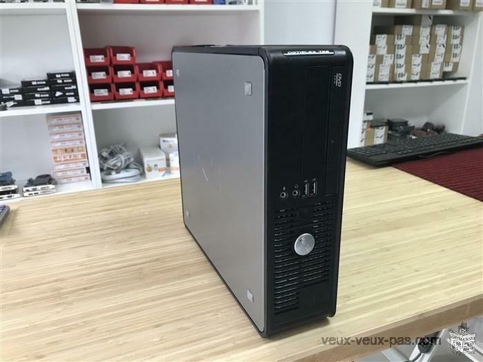 DELL OPTIPLEX SFF CORE 2 DUO 3.00GHZ 4GB 320GB WIN 7 FR