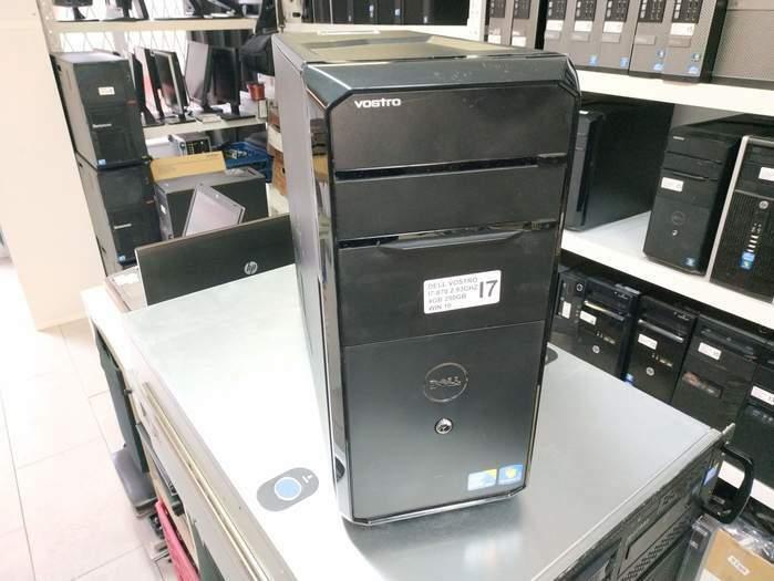 DELL VOSTRO 430S I7-870 2.93GHZ 8GB 250GB CARTE VIDEO HD5450 1GB
