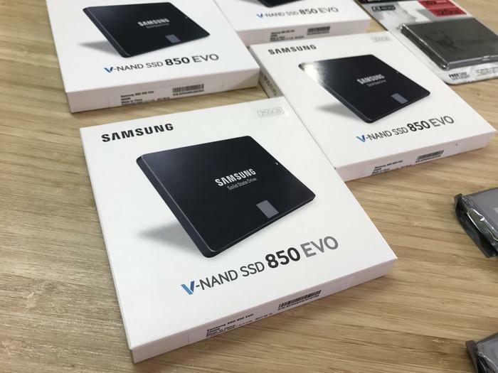 DISQUE DUR SSD KINGSTON SAMSUNG ET MICRON NEUF