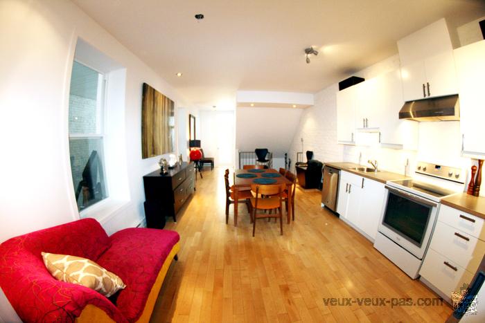 Grand appartement au coeur du village