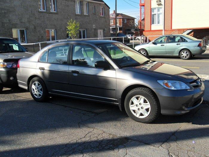 Honda civic SE 2005- 60 000km