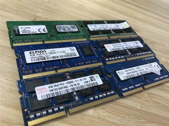 MÉMOIRE RAM LAPTOP 1GB 2GB 4GB SODIMM DDR1 DDR2 DDR3