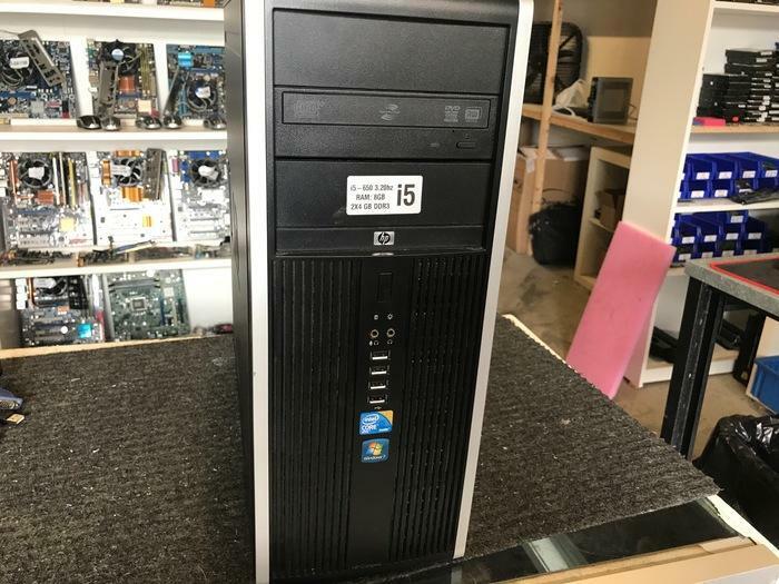 PC TOUR HP COMPAQ 8100 ELITE CORE I5-650 3.20GHZ 8GB