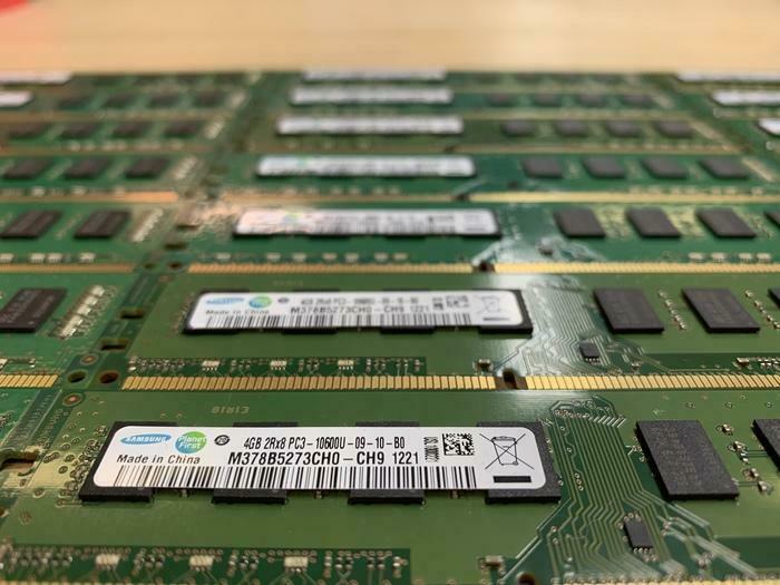 RAM MÉMOIRE POUR PC TOUR TOWER 4GB DDR3 1333/1667MHZ