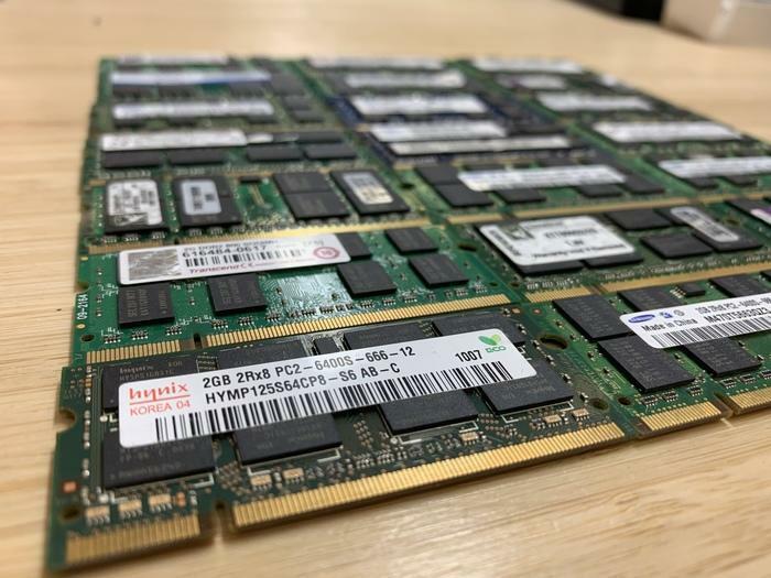 RAM MEMOIRE LAPTOP MACBOOK IMAC DDR2 2GB 800MHZ