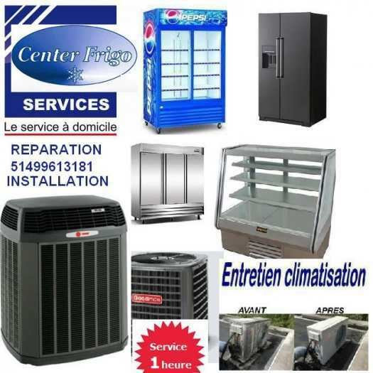 REPARATION REFRIGERATEUR Refrigerator fridge ac THERMOPOMPE SERVICE EXPRESS
