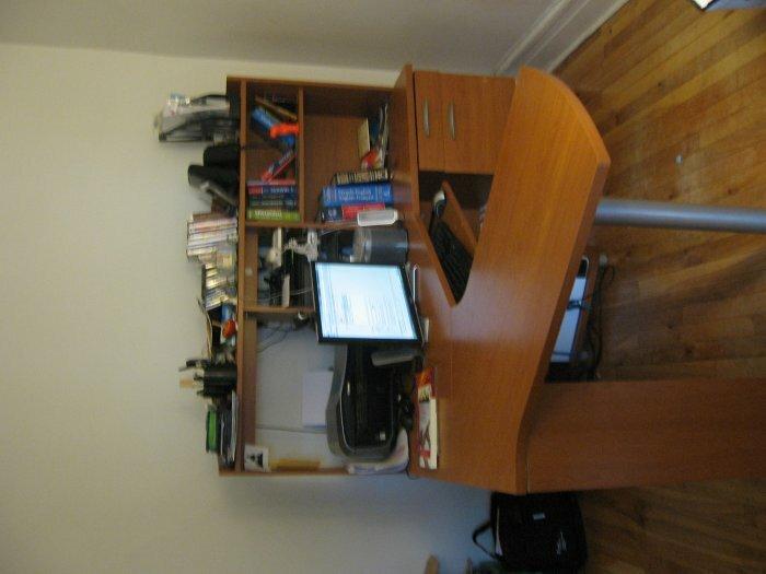 Superbe bureau en bois