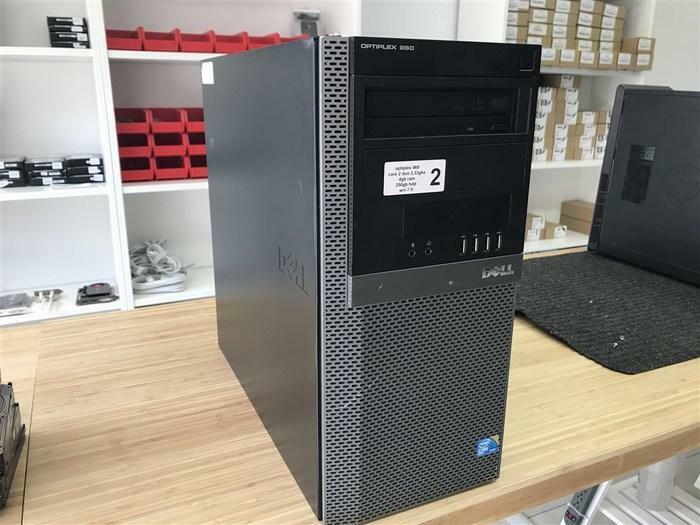 TOUR PC DELL OPTIPLEX 960 CORE 2 DUO E8600 3.33GHZ 4GB 250GB