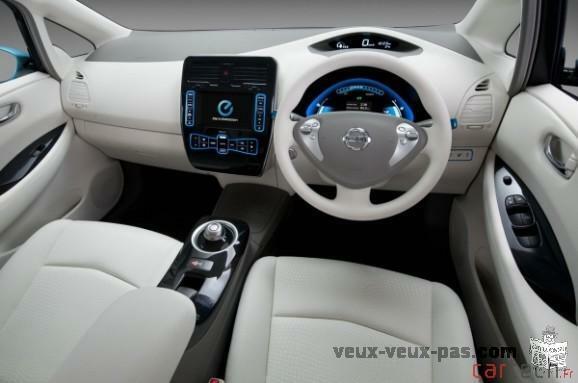 Voiture électrique : Nissan la transparence - CNET France 578 × 383 - 52 ko -